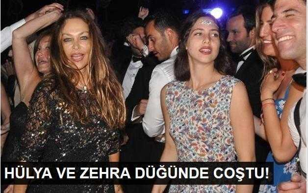 Hülya Avşar kızıyla düğünde coştu!