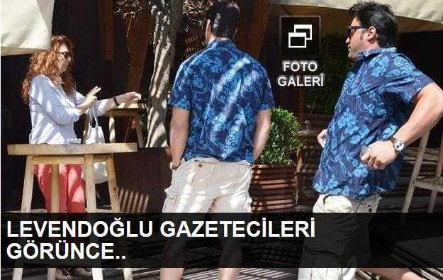 Sarp Levendoğlu gazetecileri görünce ne yaptı?
