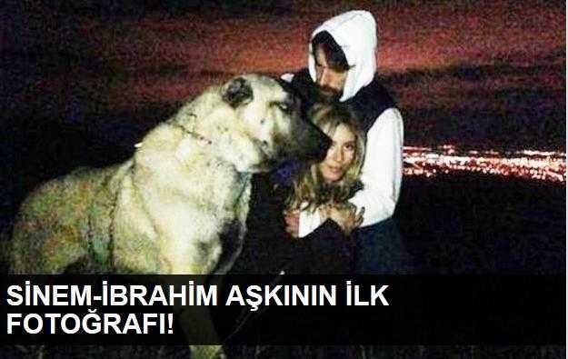 Sinem Kobal-İbrahim Çelikkol aşkının ilk fotoğrafı!