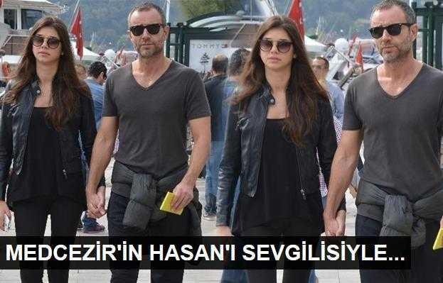 Medcezirin Hasanı sevgilisiyle birlikte!