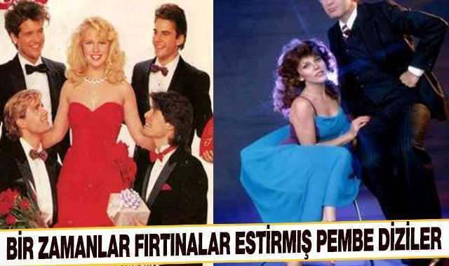 Bir zamanlar Türk televizyonlarında fırtınalar estirmiş pembe diziler!