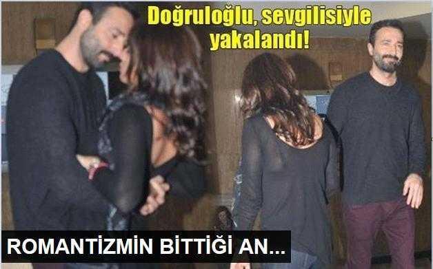 Fırat Doğruloğlu sevgilisiyle yakalandı!