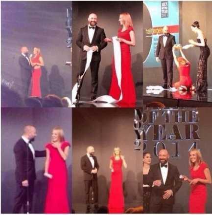 GQ ödül gecesinden özel görüntüler!