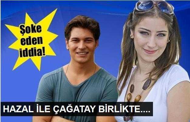 Hazal Kaya ile Çağatay Ulusoy yine aynı dizide mi rol alacak?