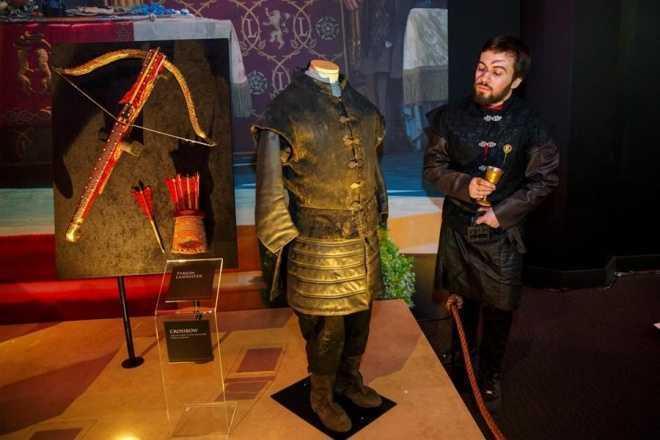 Londrada Game of Thrones sergisi
