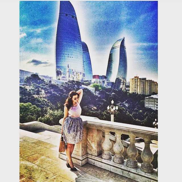Azeri ünlülerin instagram paylaşımları