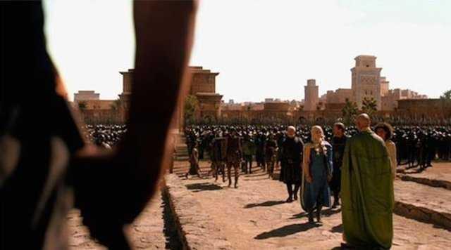 Game Of Thrones kamera arkası görüntüleri