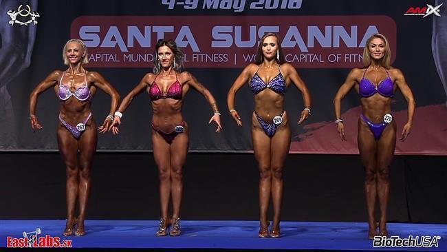 Elif Şadoğlu 2014 yılında fitness şampiyonu oldu
