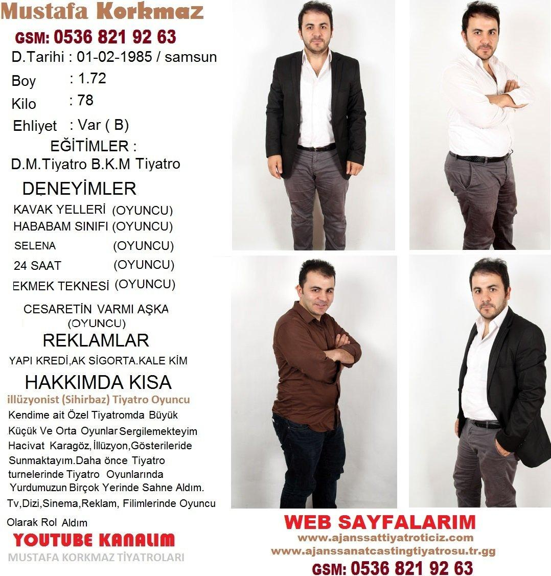 Mustafa Korkmaz Oyuncu